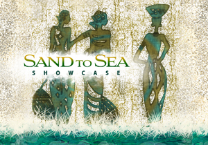 Sand to Sea Showcase banner
