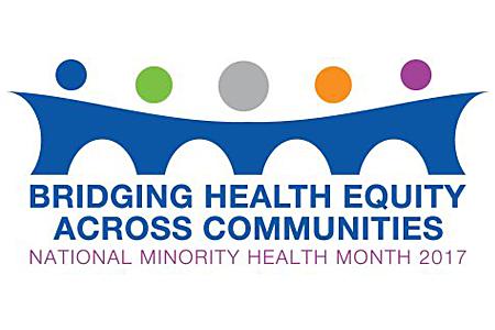 National Minority Health Month 2017 theme logo