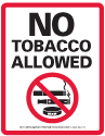 No tobacco allowed