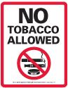 No tobacco allowed