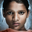 """Photo of a an East Indian girl in traditional dress."""" width="""
