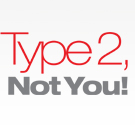 Type 2, Not You! wordmark