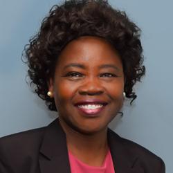 Elizabeth Lou, Founder and CEO of Nile Sisters Development Initiative, San Diego, California.