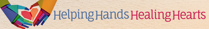 Helping Hands, Healing Hearts 2015 Annual Brunch and Fundraiser Auction Logo and Wordmark