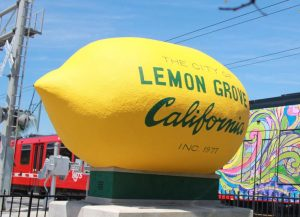 The Lemon Grove big Lemon